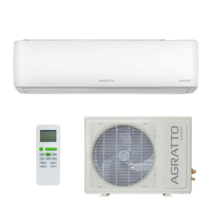 Ar Condicionado Split Hw Inverter Eco Agratto 18000 Btus Quente/frio 220V Monofasico EICS18QFR402