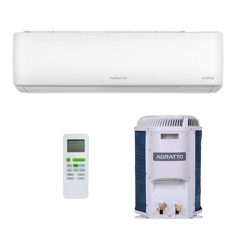 Ar Condicionado Split Hw Inverter Eco Top Agratto 9000 Btus Quente/frio 220V Monofasico EICST9QFR402
