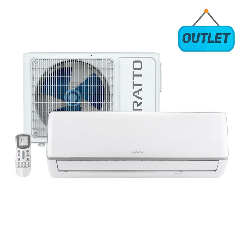 Ar Condicionado Split Hw Inverter Neo Agratto 24000 Btus Quente/frio 220V Monofasico ICSS24QF R4-02 - OUTLET