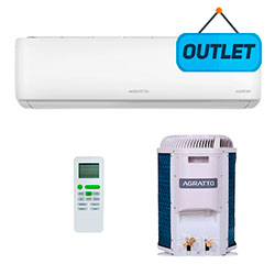 Ar Condicionado Split Inverter Eco Top Agratto 12000 Btus Q/frio 220v Mono EICST12QFR402 - OUTLET