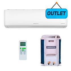 Ar Condicionado Split Inverter Eco Top Agratto 12000 Btus Q/frio 220v Mono EICST12QFR402 - OUTLET3