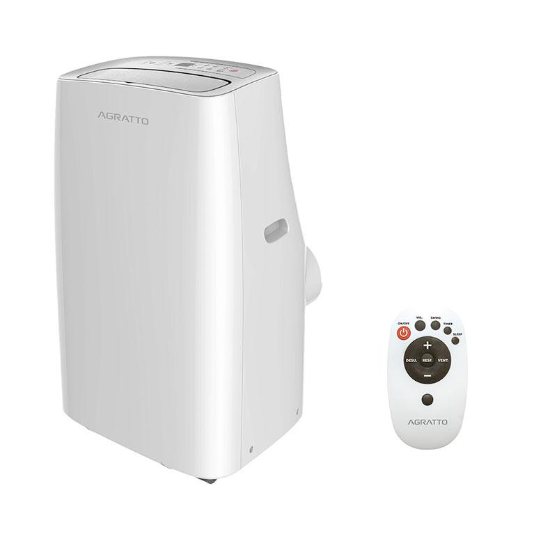 Ar Condicionado Portatil Agratto 11000 Btus Frio 220V Monofasico ACP11F02
