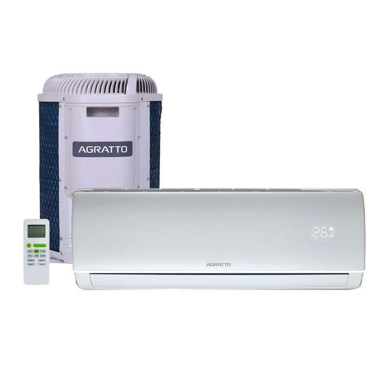 Ar Condicionado Split Hw On/off Eco Top Agratto 12000 Btus Quente/frio 220V Monofasico ECST12QF4-02