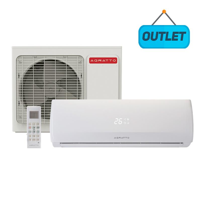 Ar Condicionado Split Hw On/Off Agratto Fit 18000 Btus Quente/Frio 220V Monofásico CCS18QF R4 - OUTLET