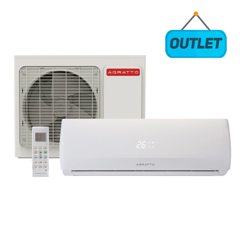 Ar Condicionado Split Hw On/Off Agratto Fit 18000 Btus Frio 220V Monofásico CCS18F R4 - OUTLET