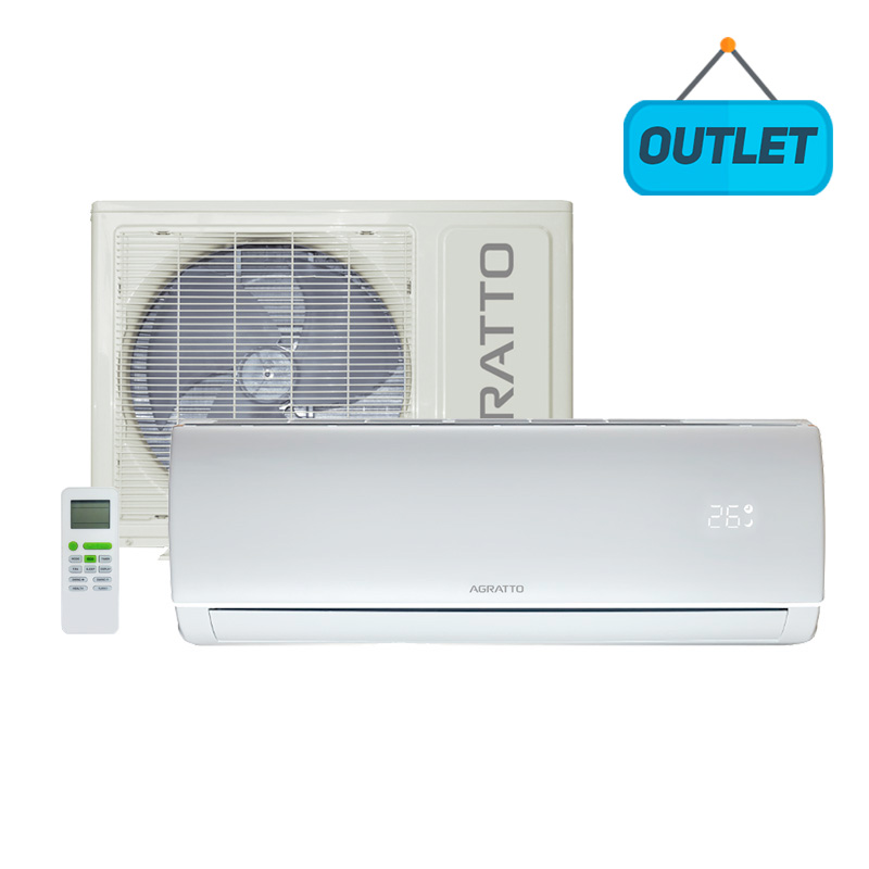 Ar Condicionado Split Hw On/off Eco Agratto 18000 Btus Frio 220V Monofasico ECS18FIR402 - OUTLET