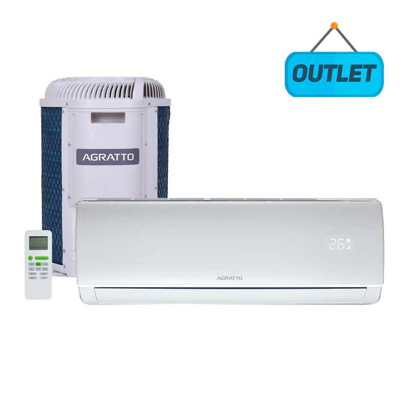 Ar Condicionado Split Hw On/off Eco Top Agratto 9000 Btus Frio 220V Monofasico ECST9FR4-02 - OUTLET99