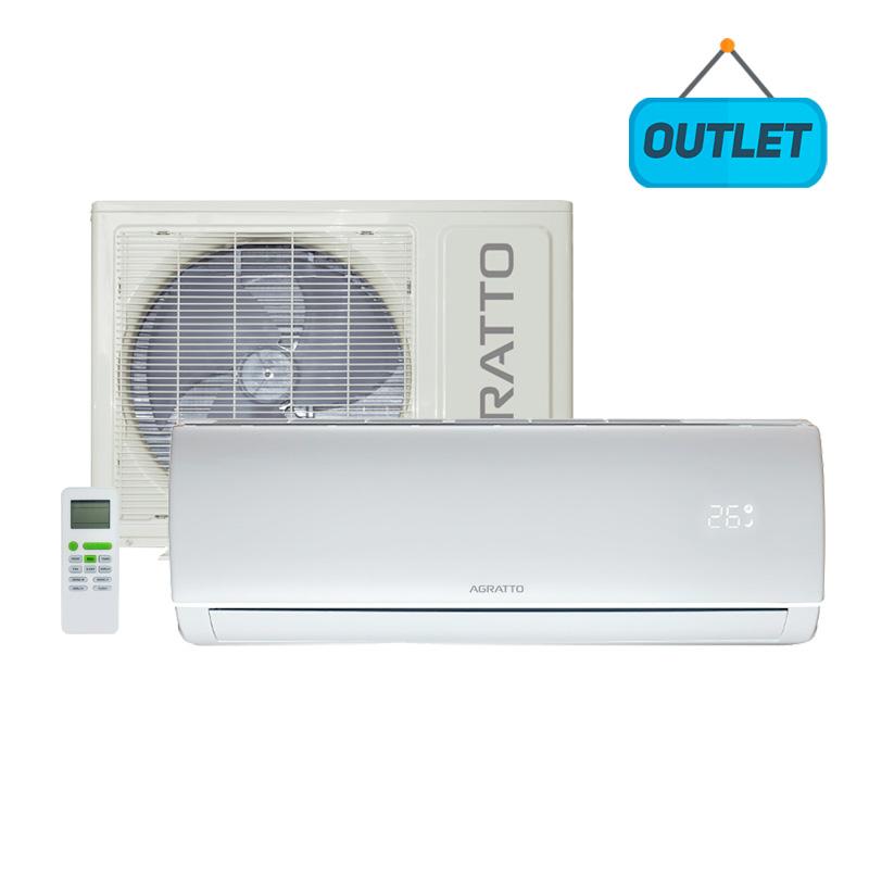 Ar Condicionado Split Hw On/off Eco Agratto 22000 Btus Quente/frio 220V Monofasico ECS22QFR4-022 - OUTLET