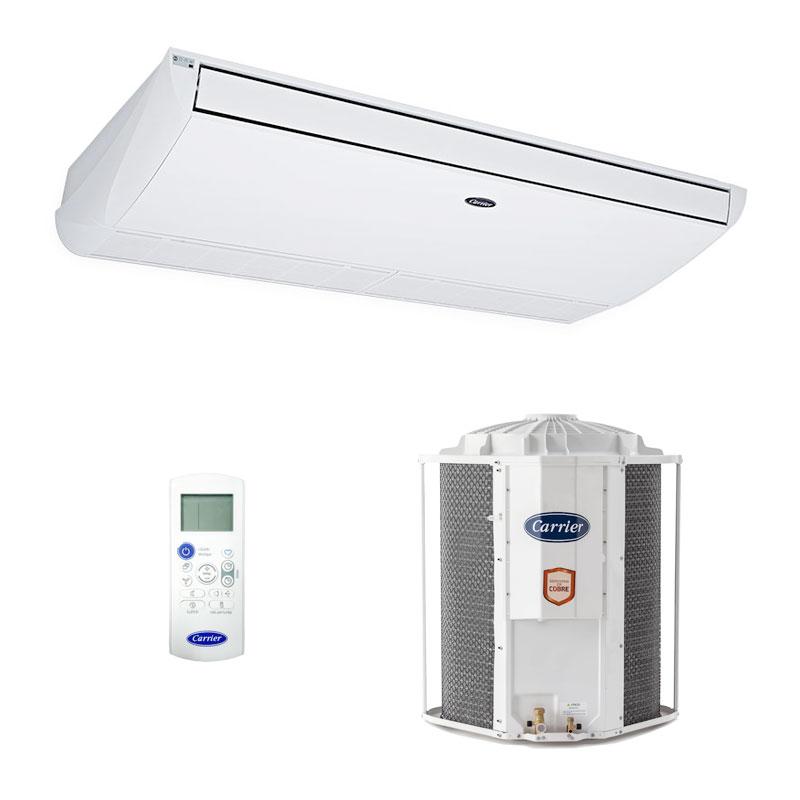 Ar Condicionado Split Teto On/off Xperience Carrier 57000 Btus Frio 220V Trifasico 42ZQA60C5