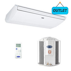 Ar Condicionado Split Teto On/off Xperience Carrier 57000 Btus Frio 220V Trifasico 42ZQA60C51 - OUTLET