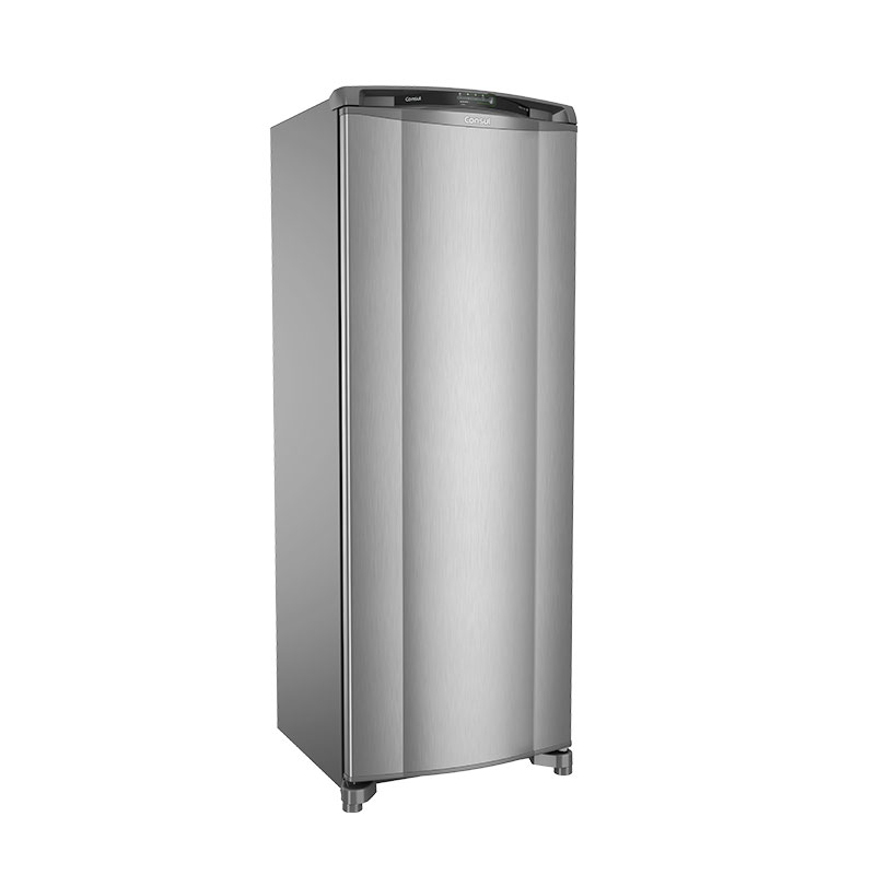 Geladeira Frost Free 1 Porta Inox Consul 342 Litros 127V CRB39AKANA
