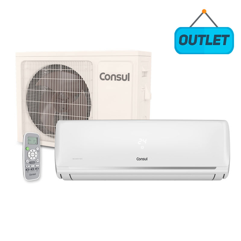 Ar Condicionado Split Hw Inverter Consul 18000 Btus Frio 220V Monofasico CBF18EBBNA - OUTLET