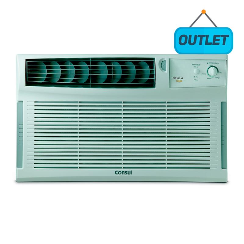 Ar Condicionado Janela Manual Consul 12000 Btus Frio 220V CCI12DBBNA - OUTLET