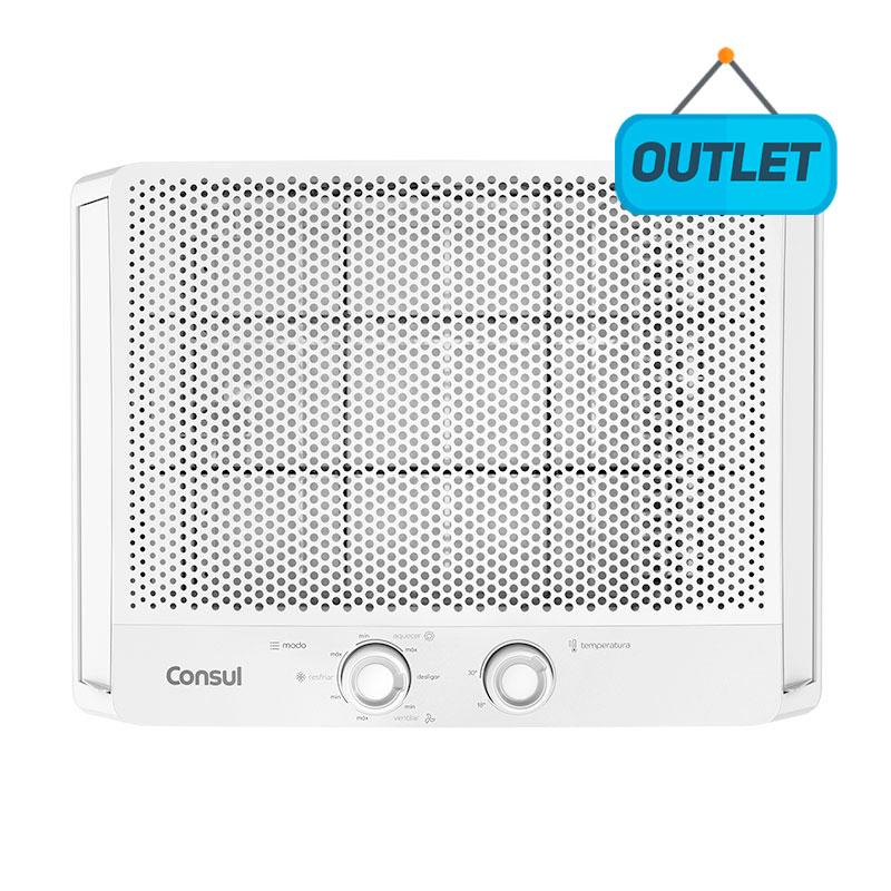 Ar Condicionado Janela Manual Consul 7500 Btus Quente/frio 220V Monofasico CCS07EBBNA44 - OUTLET