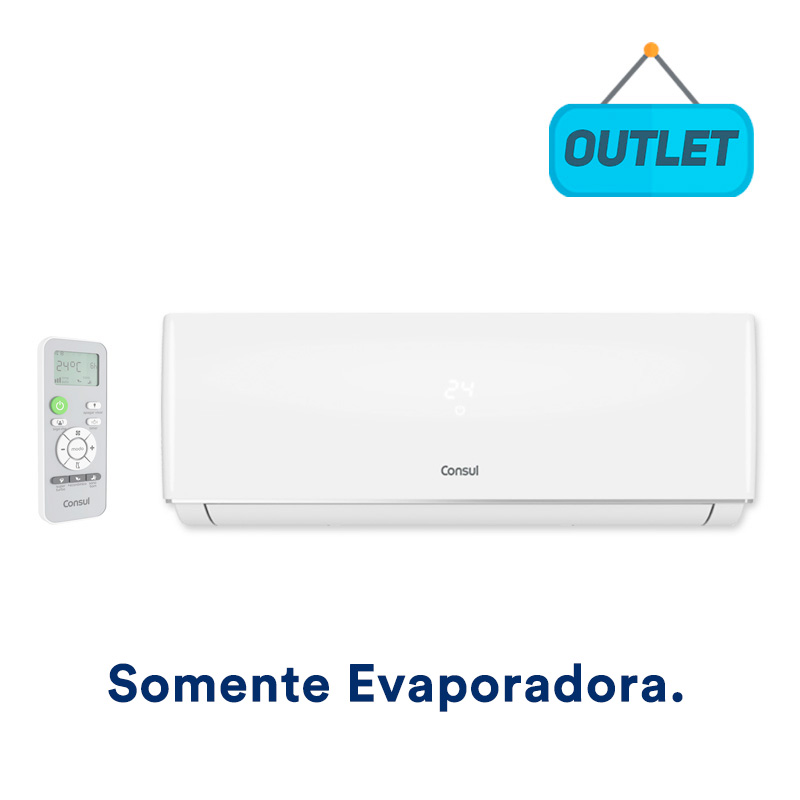 Evaporadora Split Hw On/off Consul 12000 Btus Frio 220V Monofasico CBN12BBBNA - OUTLET