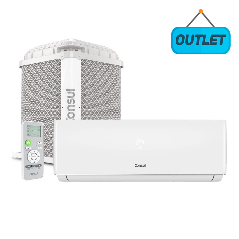 Ar Condicionado Split Hw On/off Consul 18000 Btus Frio 220V Monofasico CBN18CBBNA - OUTLET22