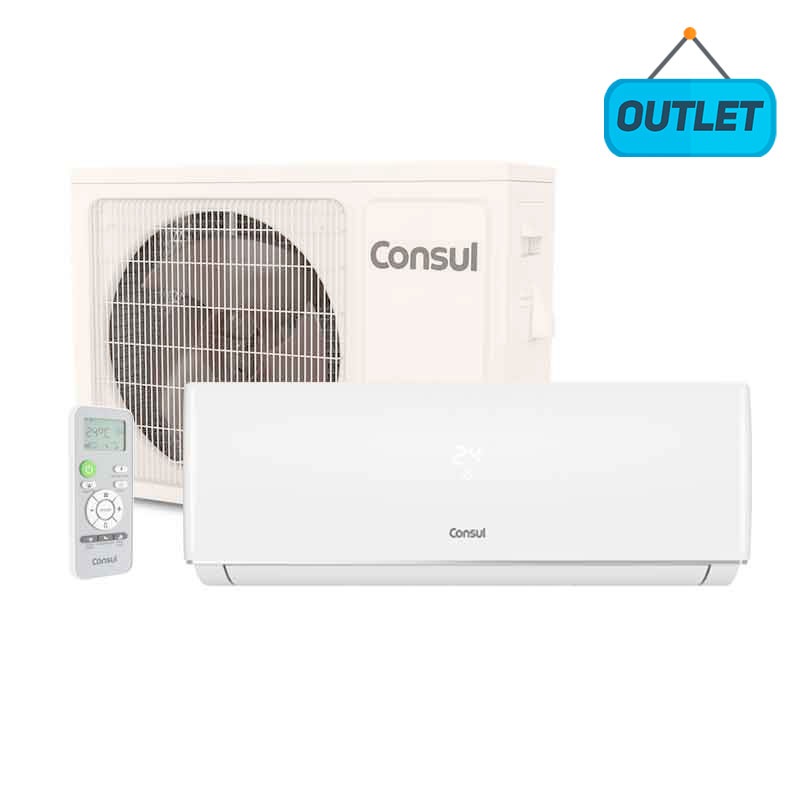 Ar Condicionado Split Hw On/off Consul 12000 Btus Quente/frio 220V Monofasico CBP12CBBBNA - OUTLET