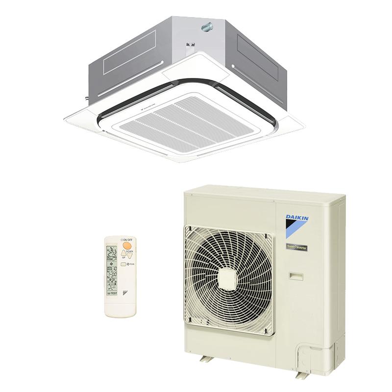Ar Condicionado Split Cassete 36000 BTU/s Quente/Frio 220V Daikin Sky Air Inverter SCQ36AVL