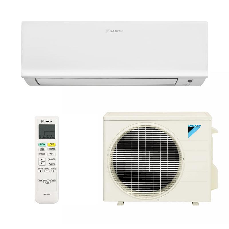 Ar Condicionado Split Hw Inverter Exclusive Daikin 9000 Btus Quente/frio 220V Monofasico FTHS09T5VL