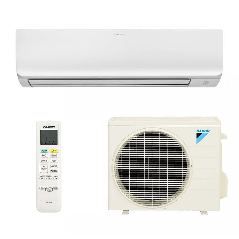 Ar Condicionado Split Hw Inverter Exclusive Daikin 24000 Btus Quente/frio 220V Monofasico FTHS24T5VL