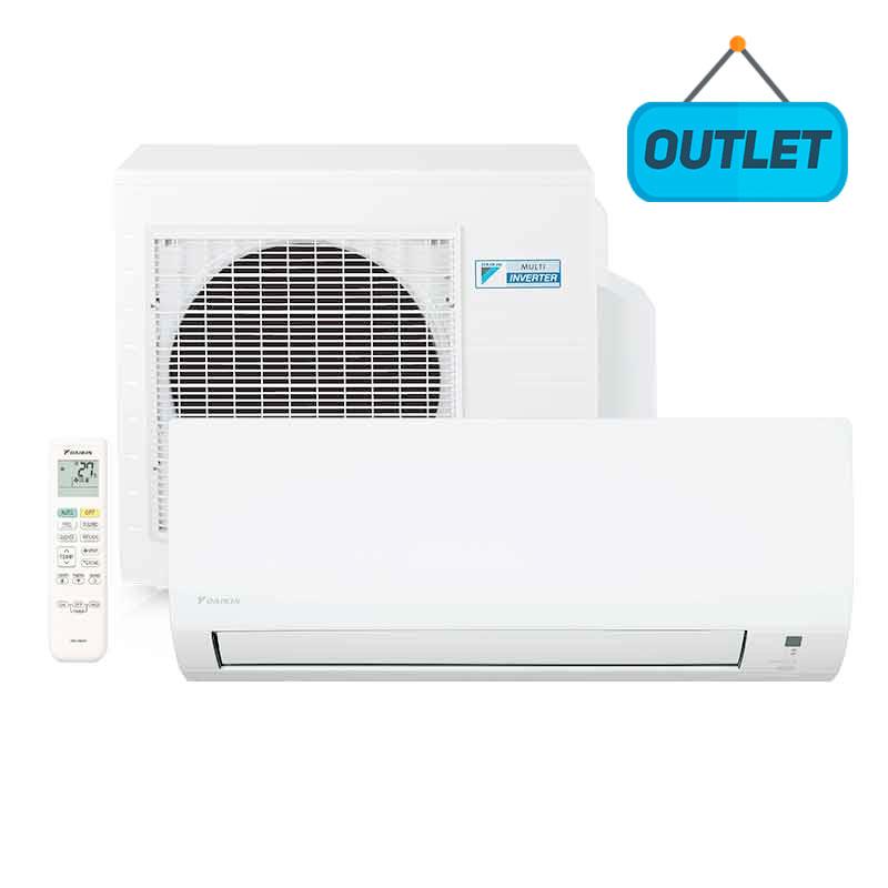 Ar Condicionado Split Hw Inverter Advance Daikin 12000 Btus Quente/frio 220V Monofasico FTH12P55VL - OUTLET