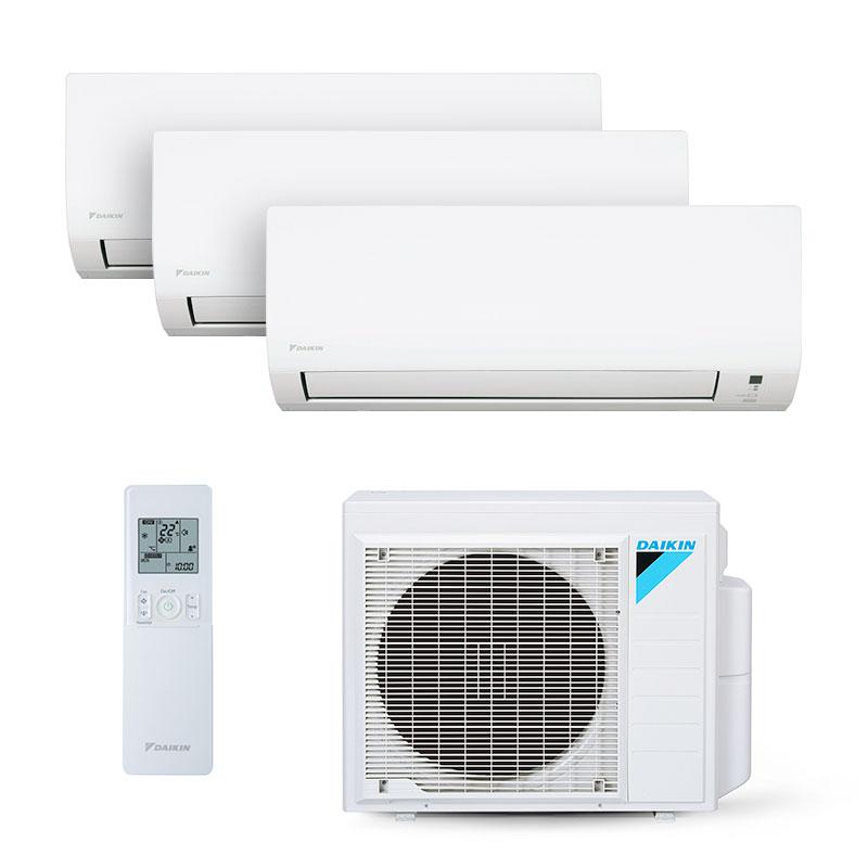 Ar Condicionado Multi Tri Split Inverter Daikin 2x9000+1x18000 Btus Quente/frio 220V Monofasico S3MXS2409P