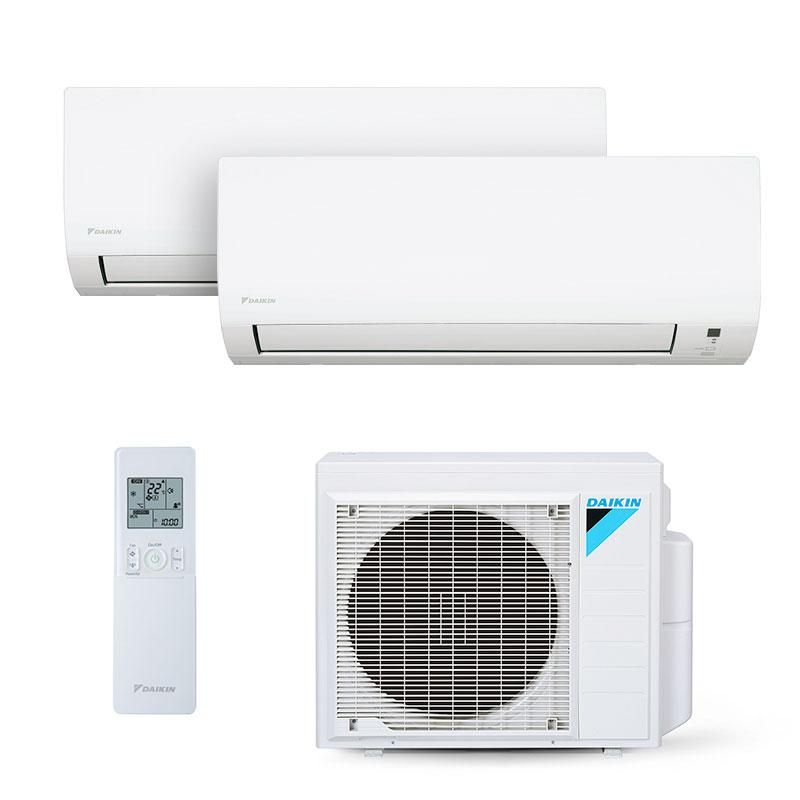 Ar Condicionado Multi Split Bi Inverter Daikin 2x9000 Btus Quente/Frio 220V 1F 2MXS18PMVM