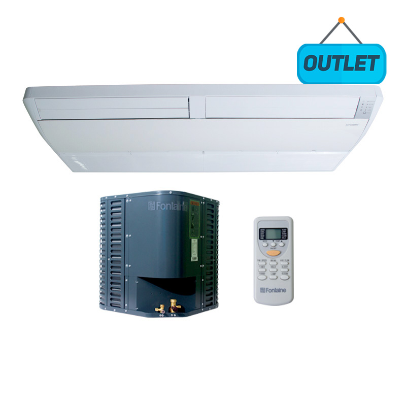 Ar Condicionado Piso Teto On/Off Fontaine 58.000 Btus Frio 220V Trifasico FON60INT - OUTLET