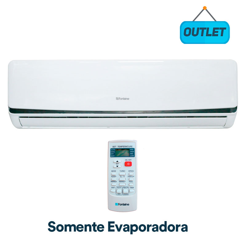 Evaporadora Split Hw On/off Fontaine 9000 Btus Frio 127V Monofasico UTI09EVAPF91 - OUTLET