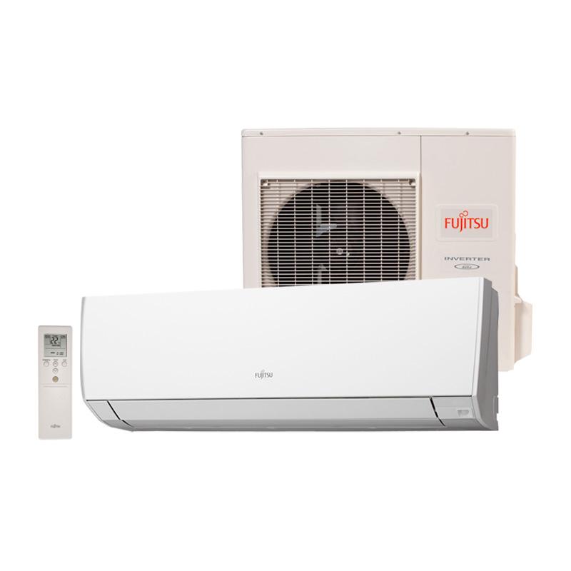 Ar Condicionado Split High Wall Inverter Fujitsu 12000 Btus Quente/Frio 220v 1F ASBG12LMCA QF