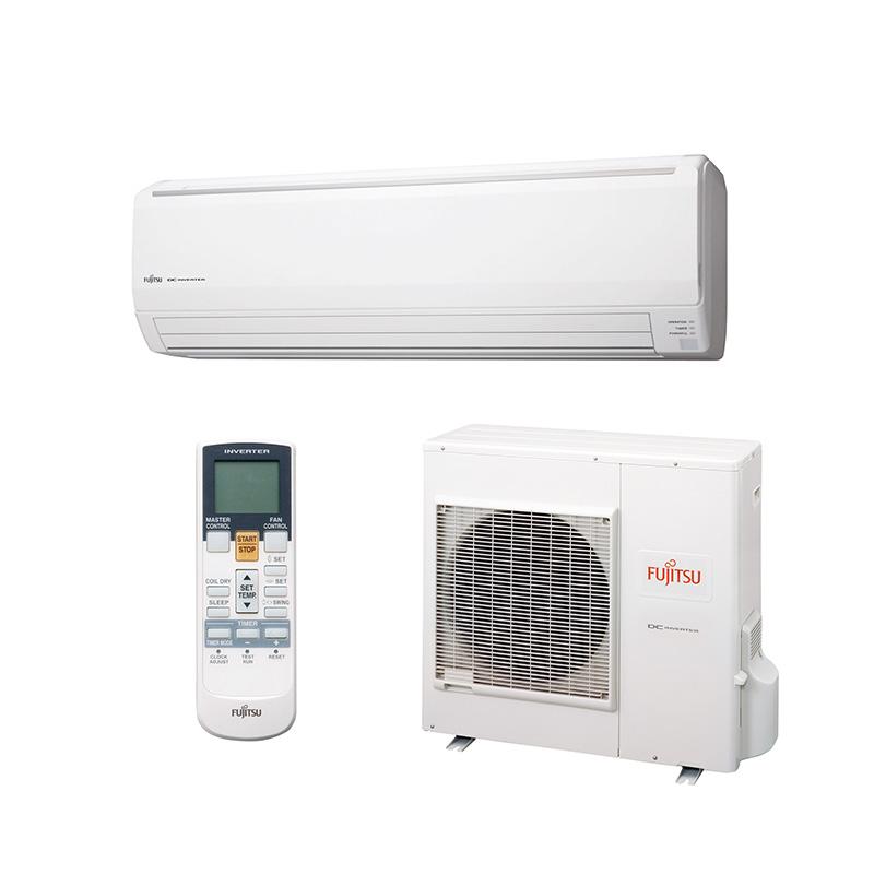 Ar Condicionado Split High Wall Fujitsu Inverter 27000 Btus 220V Quente/Frio 1F ASBG30LFBB