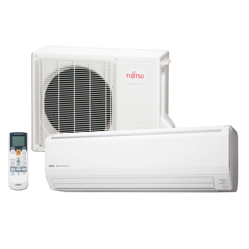 Ar Condicionado Split High Wall Inverter Fujitsu 24000 Btus Quente/Frio 220V 1F ASBG24LFCA