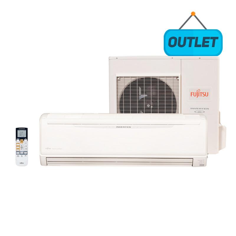 Ar Condicionado Split Hw Inverter Fujitsu 24000 Btus Quente/Frio 220V 1F ASBA24LFC - OUTLET
