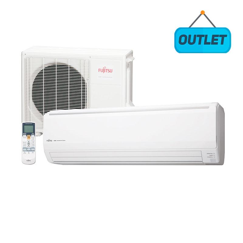 Ar Condicionado Split Hw Inverter Fujitsu 24000 Btus Frio 220V Monofásico ASBG24JFCC - OUTLET