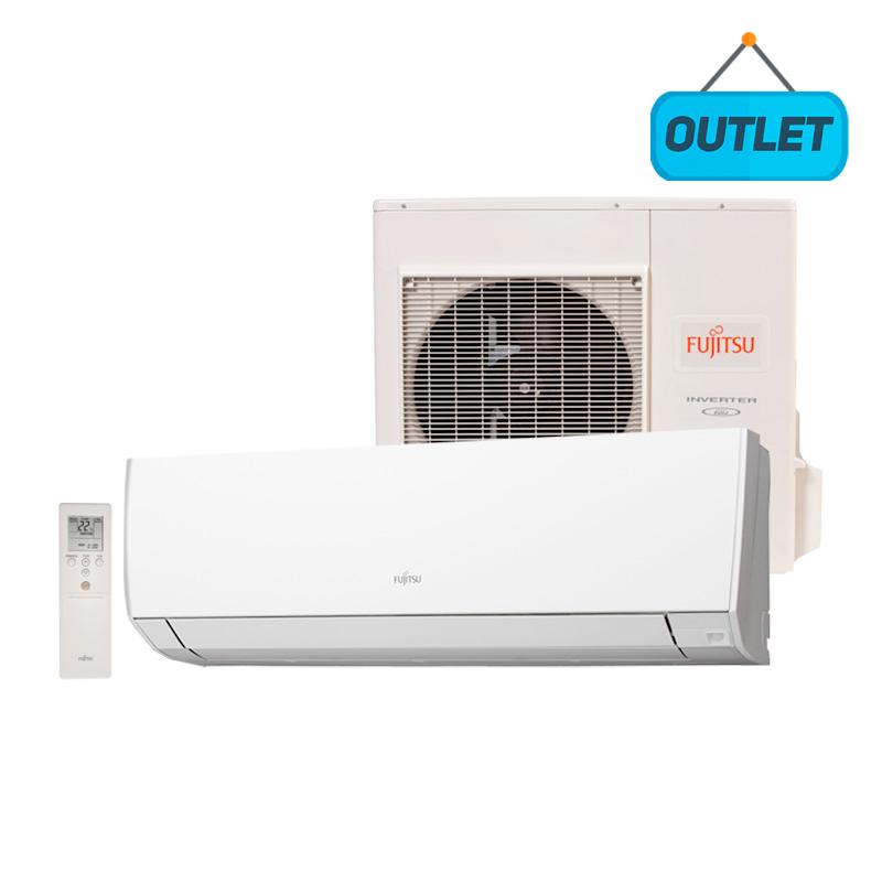 Ar Condicionado Split Hw Inverter Fujitsu 12000 Btus Frio 220V Monofasico ASBG12JMCA - OUTLET3