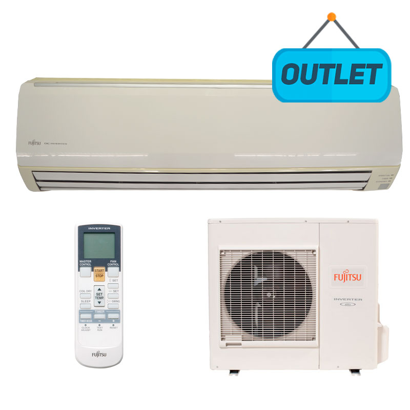Ar Condicionado Split Hw Inverter Fujitsu 27000 Btus Frio 220V Monofasico ASBG30JFBB - OUTLET3