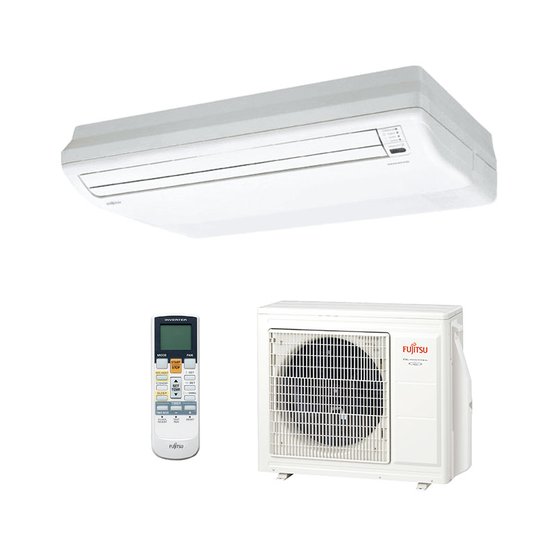 Ar Condicionado Split Piso Teto Inverter Fujitsu 23000 Btus Quente/frio 220V Monofasico ABBG24LVTA