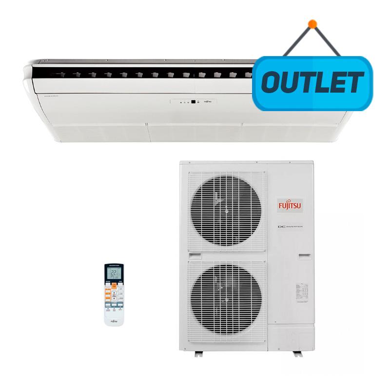 Ar Condicionado Split Piso Teto Inverter Fujitsu 48000 Btus Quente/frio 380V Trifasico ABBG54LRTA - OUTLET
