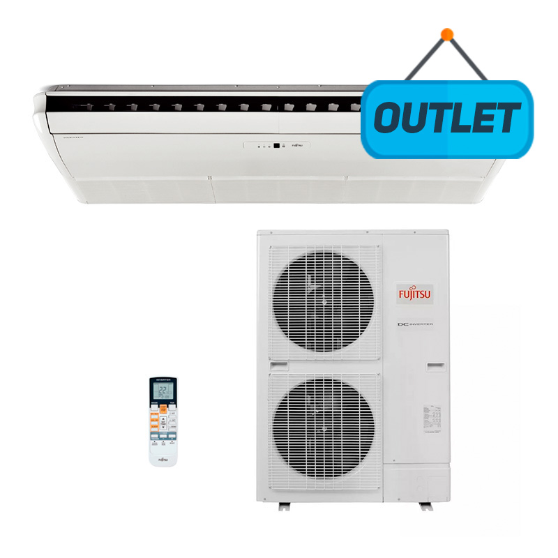 Ar Condicionado Split Teto Inverter Fujitsu 42000 Btus Quente/frio 220V Monofasico ABBG455LLRTA - OUTLET