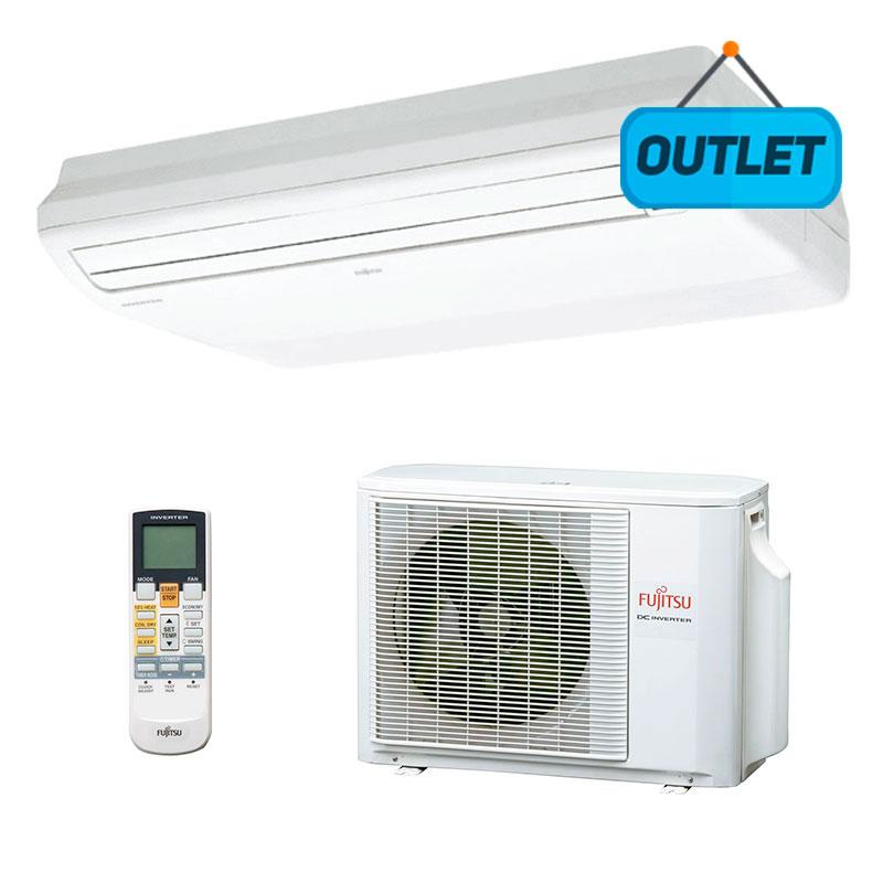 Ar Condicionado Split Piso Teto Inverter Fujitsu 23000 Btus Quente/frio 220V Monofasico ABBF24LAT - OUTLET1