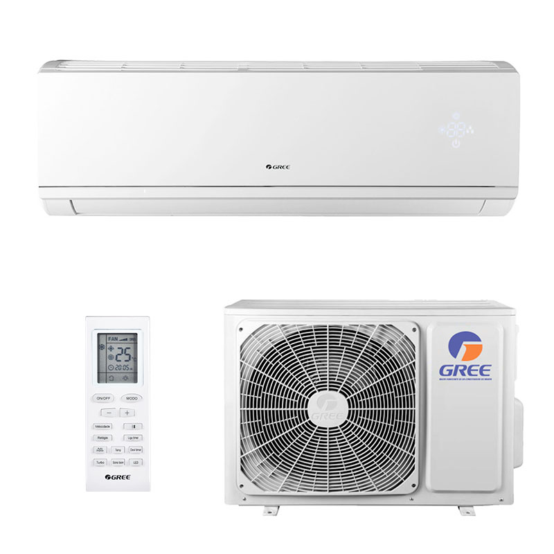 Ar Condicionado Split Hw Inverter Eco Garden Gree 9000 Btus Quente/frio 220V Monofasico GWH09QA-D3DNB8M