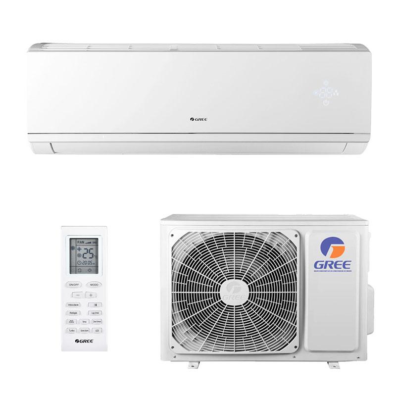 Ar Condicionado Split Hw Inverter Eco Garden Gree 18000 Btus Quente/frio 220V Monofasico GWH18QD-D3DNB8M