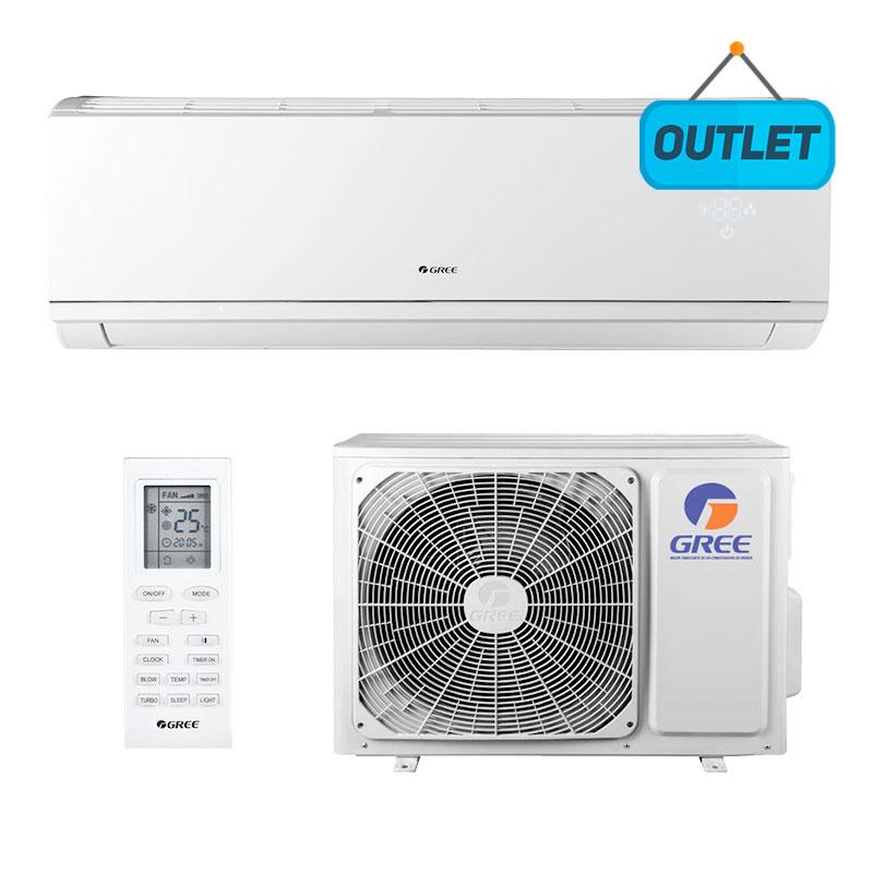 Ar Condicionado Split Hw Inverter Eco Garden Gree 24000 Btus Frio 220V Monofasico GWC24QE-D33DNB8M - OUTLET