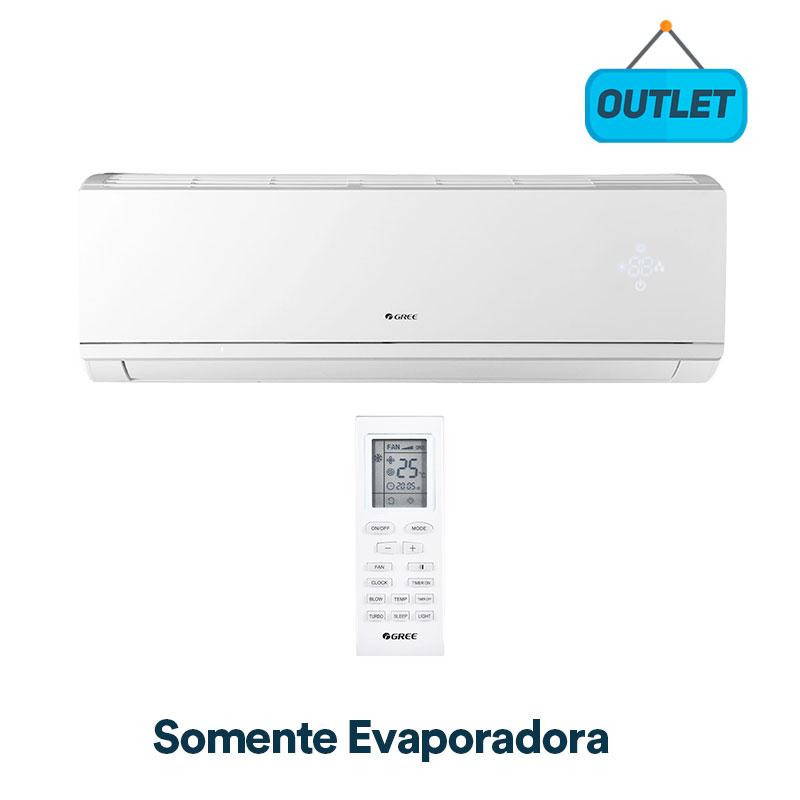 Evaporadora Split Hw Eco Garden Inverter Gree 9000 Frio 220V Monofasico GWC09QA-D3DNB8M/I0 - OUTLET