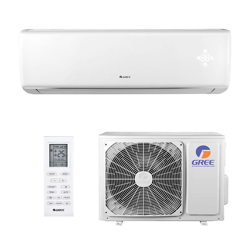 Ar Condicionado Split Hw On/off Eco Garden Gree 18000 Btus Quente/Frio 220V Monofasico GWH18QD-D3NNB4B
