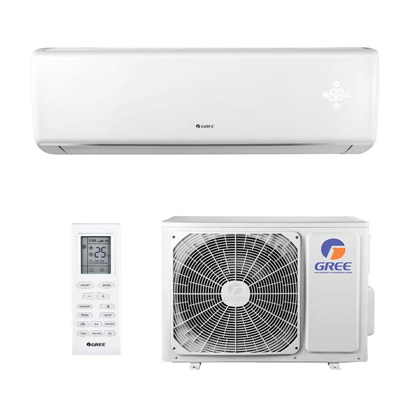Ar Condicionado Split Hw On/Off Eco Garden Gree 9000 Btus Quente/Frio 220V Monofasico GWH09QB-D3NNB4A