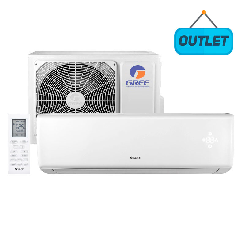 Ar Condicionado Split Hw On/off Eco Garden Gree 12000 Btus Frio 220V Monofasico GWC12QC-D3NNB4AA - OUTLET