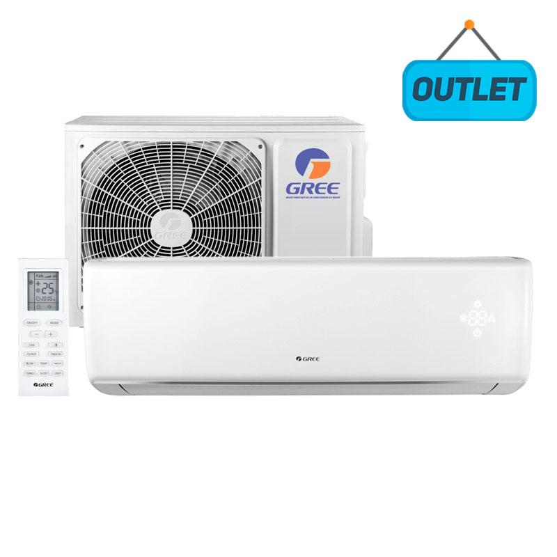 Ar Condicionado Split Hw On/off Eco Garden Gree 12000 Btus Quente/frio 220V Monofasico GWH12QCC-D3NNB4A - OUTLET