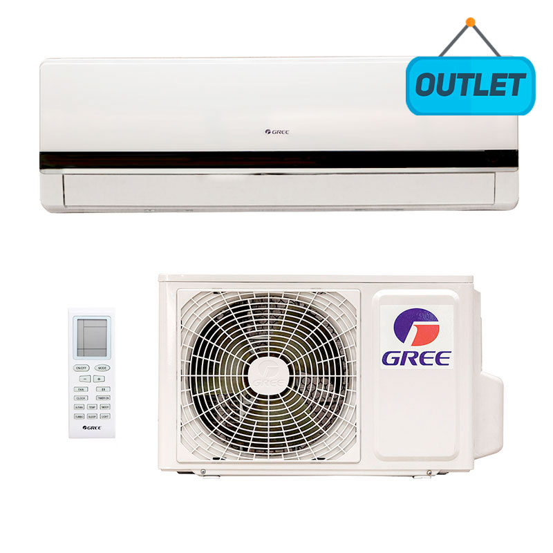 Ar Condicionado Split Hw On/off Gree 12000 Btus Frio 220V Monofasico GWC12MB-D3NNA5E0 - OUTLET