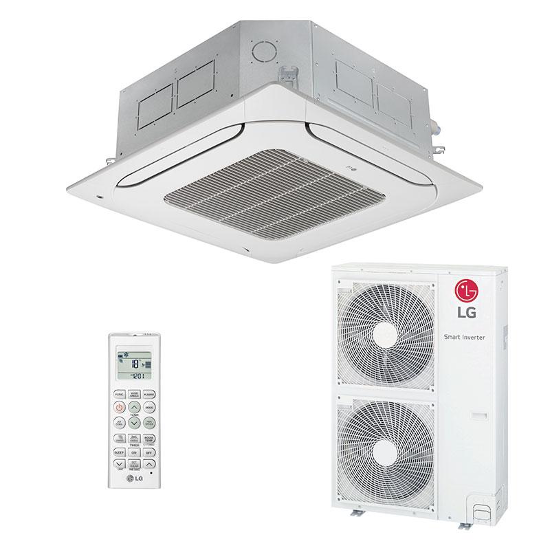 Ar Condicionado Split Cassete Inverter Lg 50000 Btus Quente/Frio 220V Monofasico ATNW60GMLP0.ANWZBRZZ